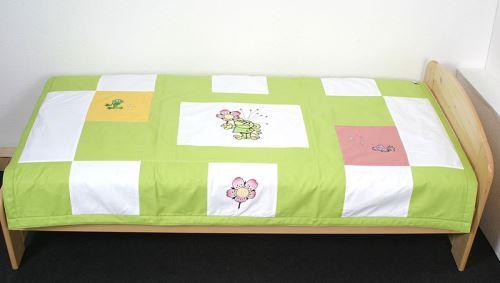 Dětský přehoz na postel s výšivkou © ZS